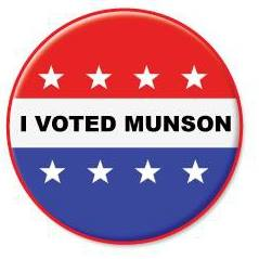 I Voted Munson